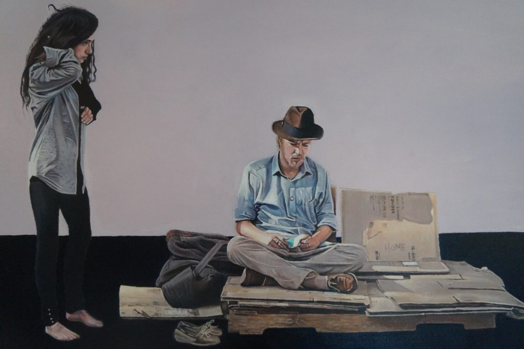 oil painting James Earley