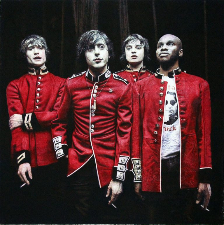 The Libertines James Earley Artist Painting