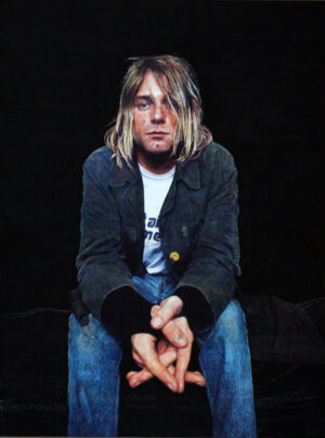 James Earley Kurt Cobain Painting Portrait