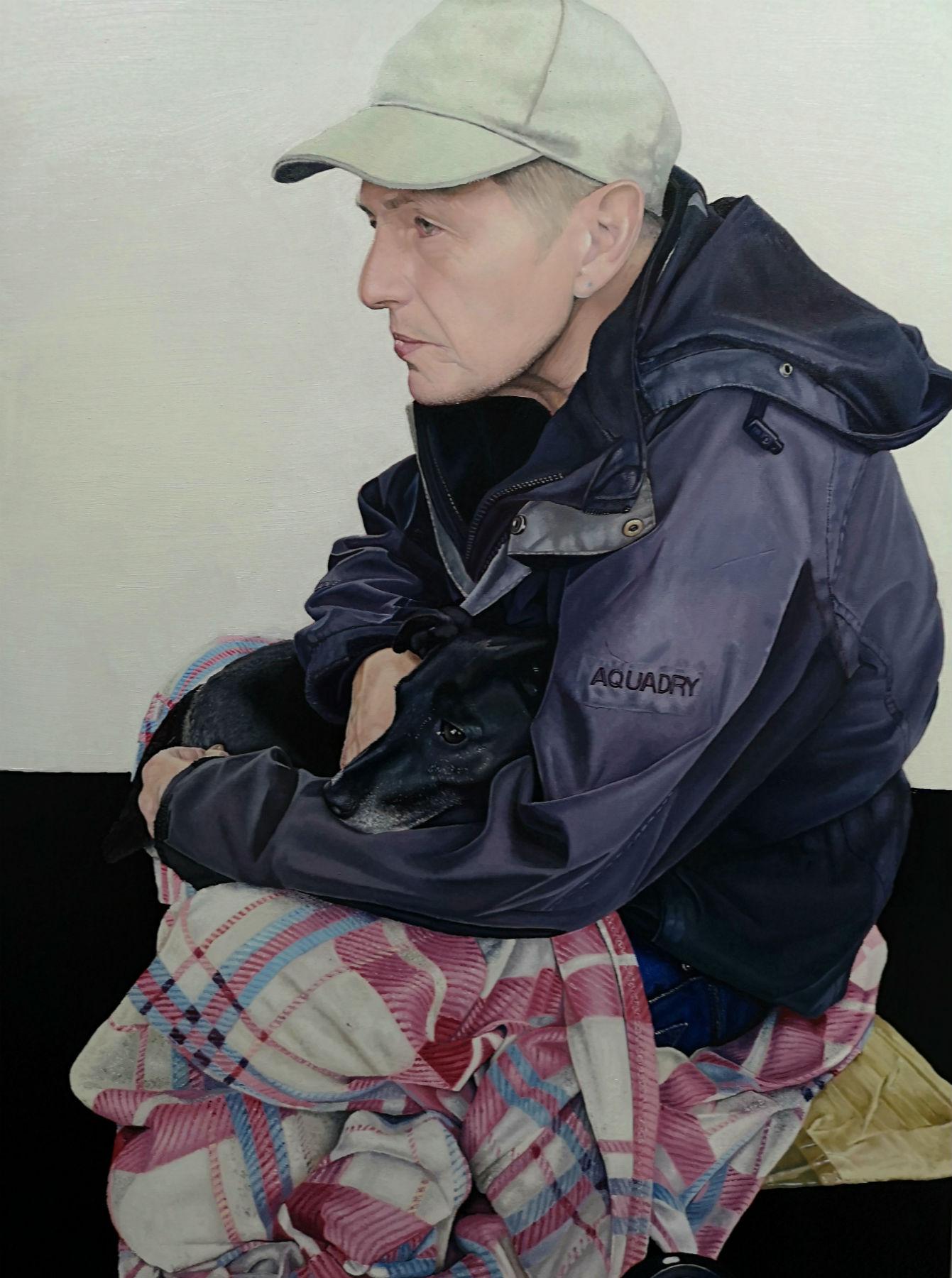 original oil painting by James Earley