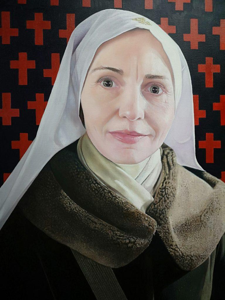 Olga portrait by James earley
