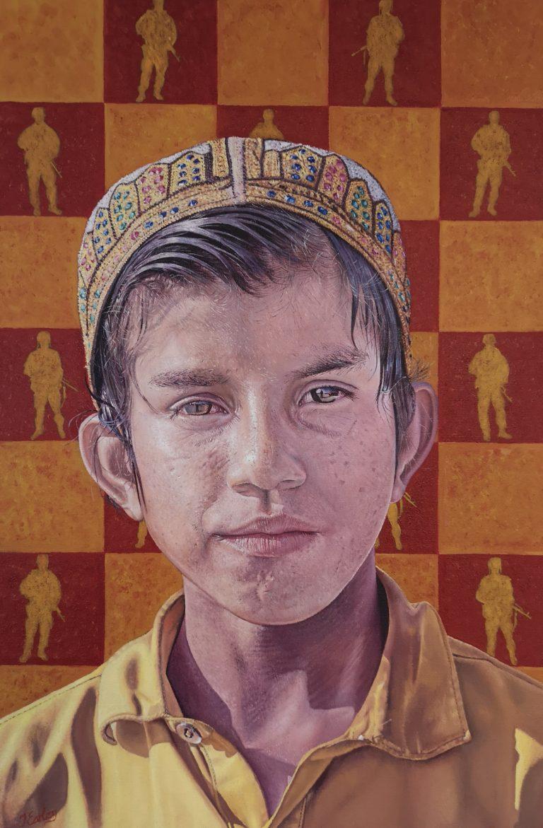 I See The Man Everywhere political art James Earley