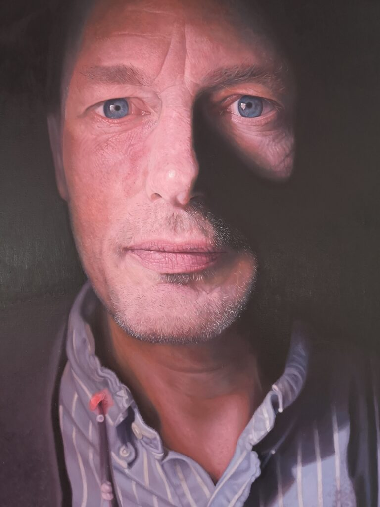 self portrait by James earley