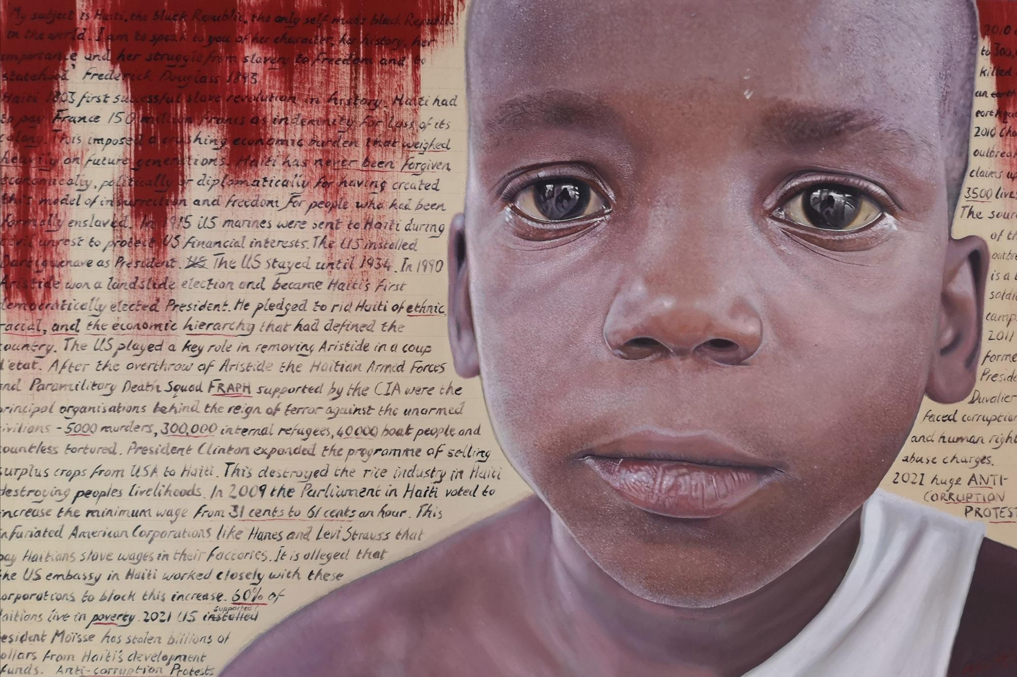 Haiti's Revolution by James Earley oil on canvas