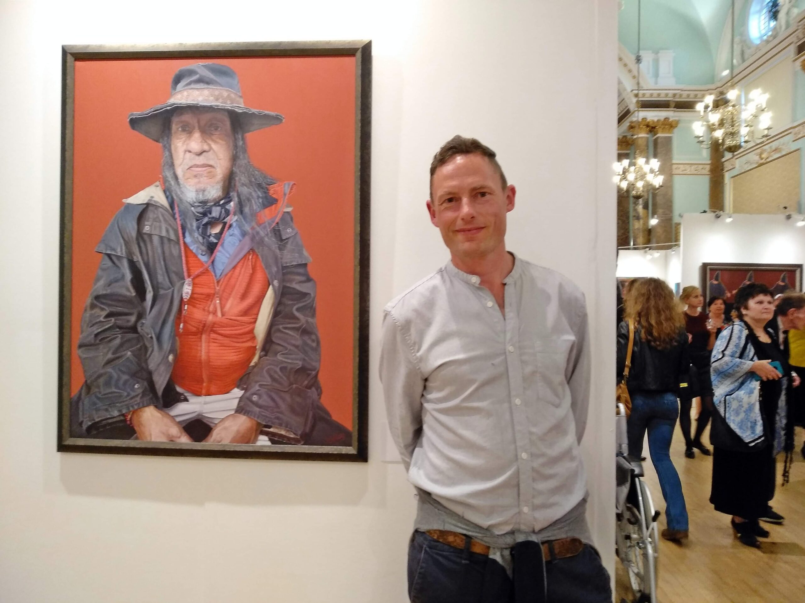 James Earley Artist Portraits gallery london biennale 2019