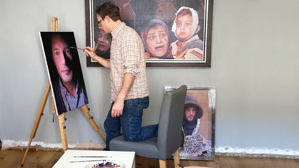 James Earley Artist Portratist 2
