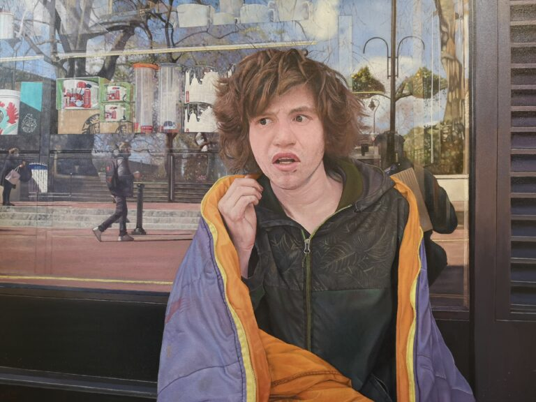 Rory by James Earley figurative artist uk