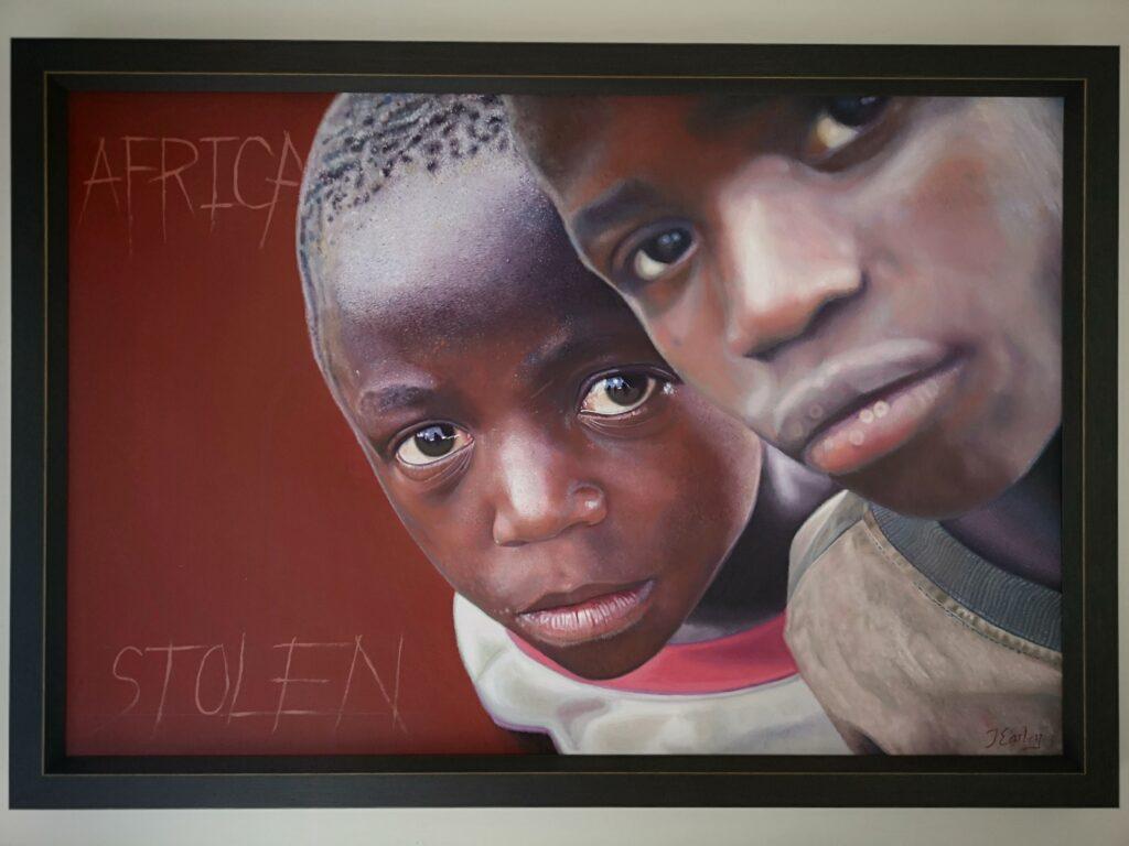 Africa framed by James earley