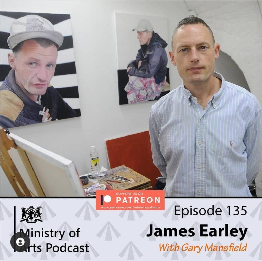 James Earley Ministry of Arts Podcast Gary Mansfield